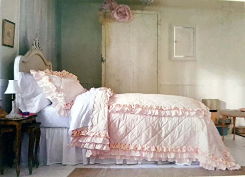 twin quilt shabby chic - 5
