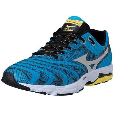 Mizuno - Zapatillas de Running de Material Sintético Hombre, Azul (Azul), 40: Amazon.es: Zapatos y complementos