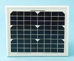 Apollo 210 Solar Panel (10 watts) with mounting bracket