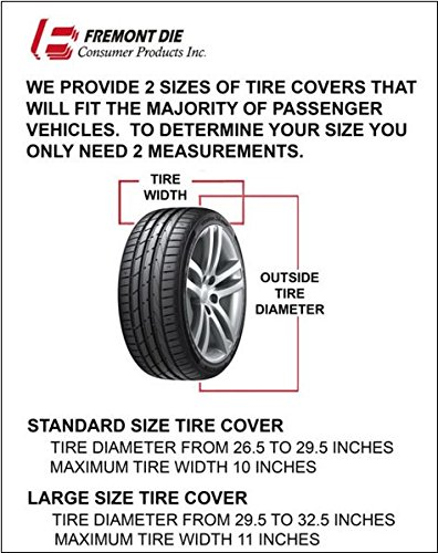 Fremont Die Universal Fit Tire Cover