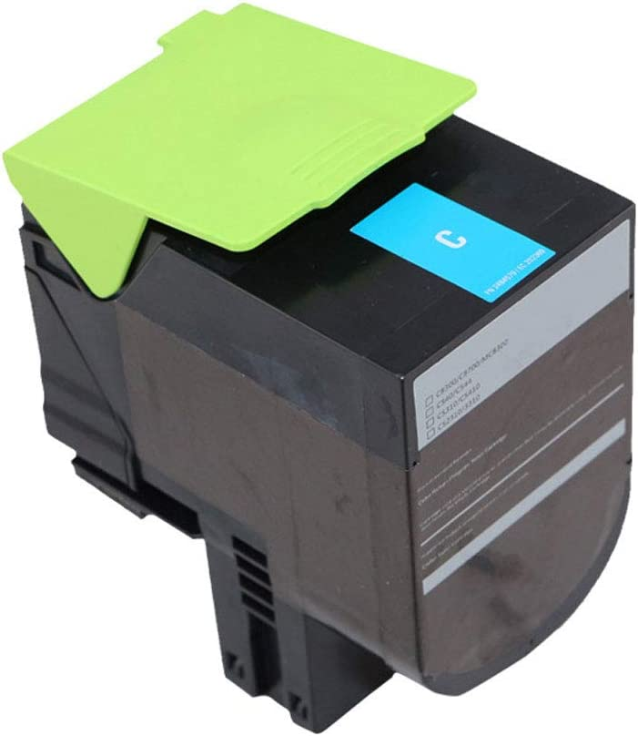 Compatible with C540 Powder Box C543dn C544dw C546dtn Ink Cartridge Color Laser Printer Office Supplies-Yellow