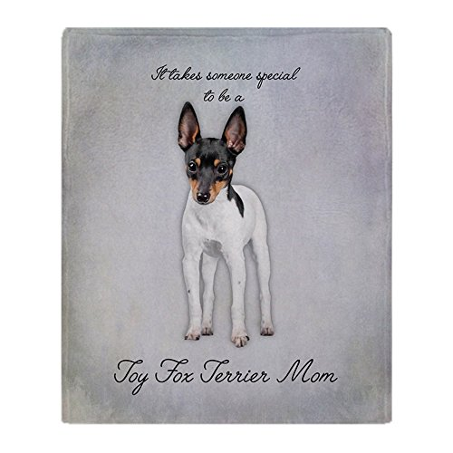 CafePress Toy Fox Terrier Mom Soft Fleece Throw Blanket, 50