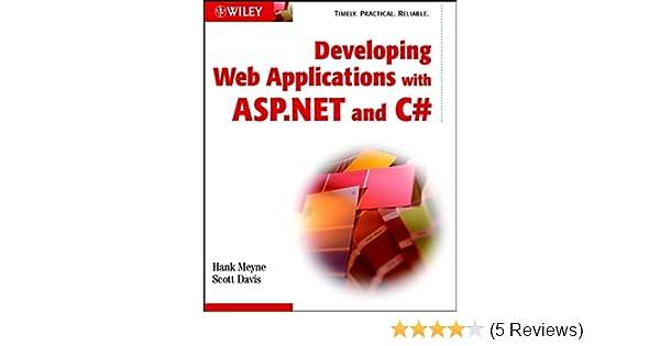 Web application development with asp. Net mvc, c# razor & visual studio.