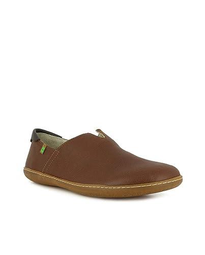 37 Cuir Soft Grain Wood Femme Brownel Chaussures N275 Viajero 1fq6q