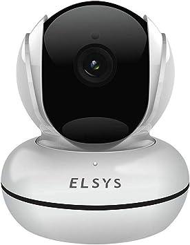 Câmera de Segurança Wi-Fi Rotacional com Inteligência de vídeo Full HD, ESC-WR3F, Branca