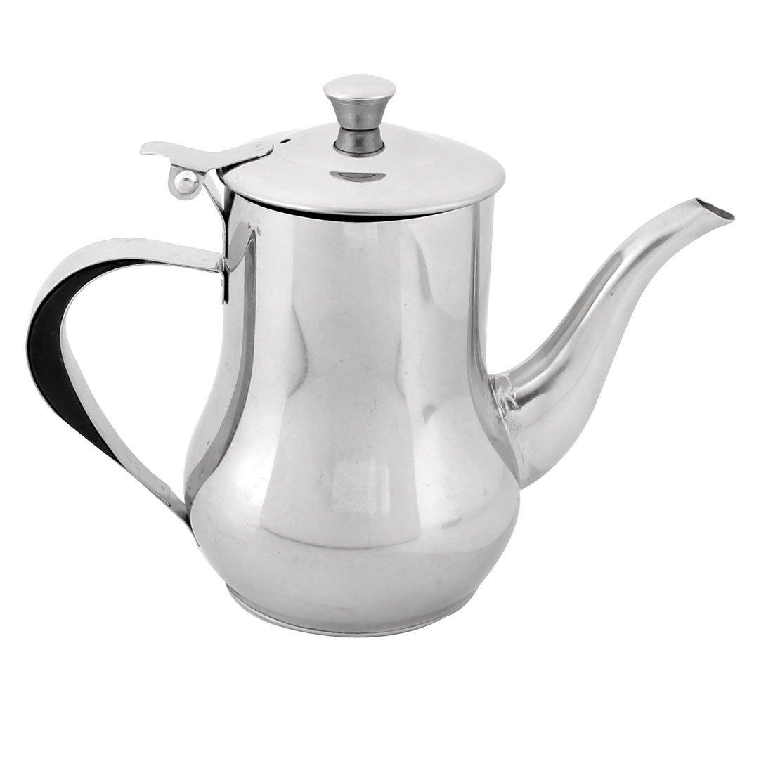 uxcell Stainless Steel Cooking Oil Vinegar Soy Sauce Can Dispenser Kettle Pot Bottle
