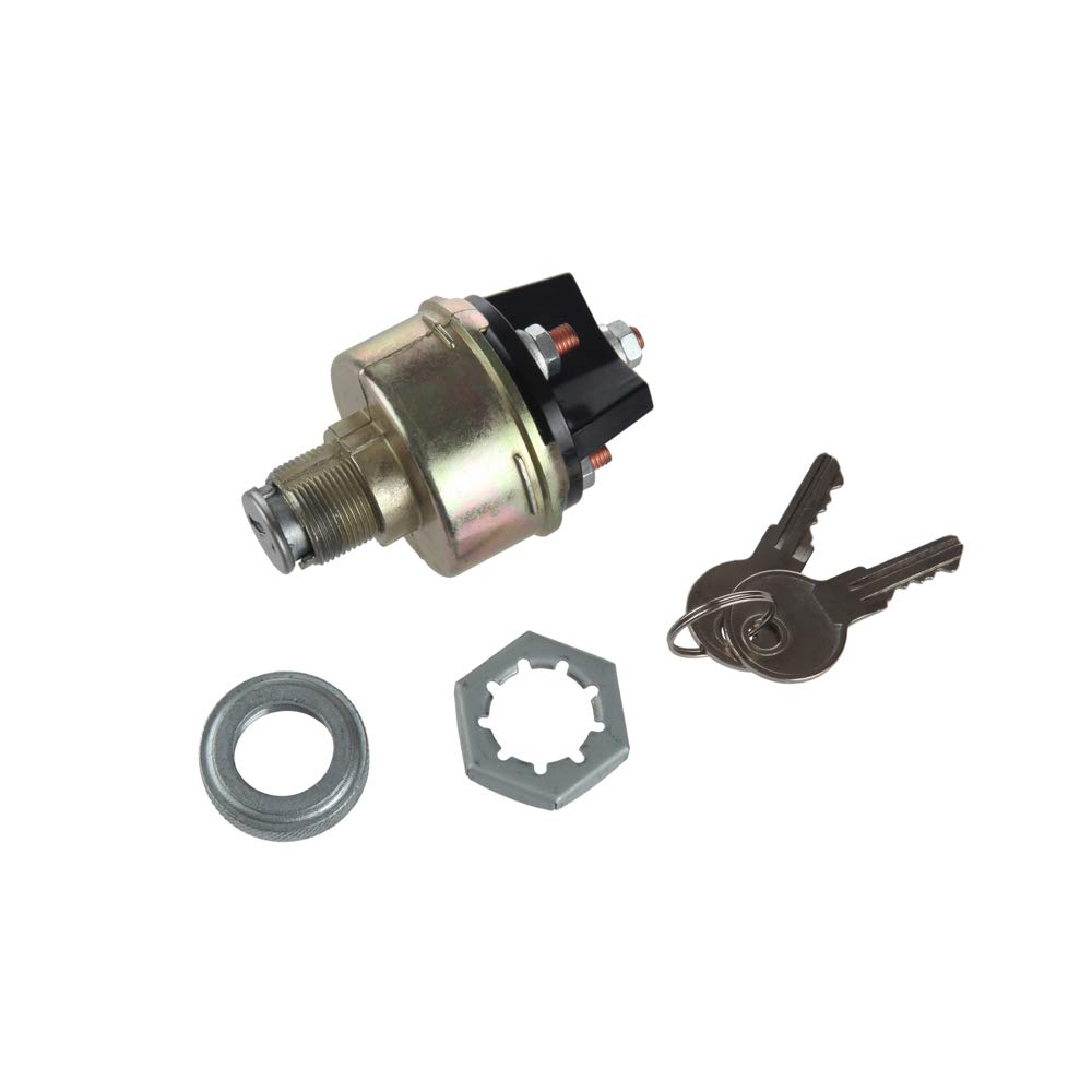 MIDIYA Universall Ignition Switch With 2 Keys for Car Plant Applications 80153 85936 G.1214 V.F.LS-15 D250E D300E D350E Tractor,Trailer,Caterpillar,Agricultura