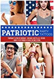 4th of July Temporary Tattoos 50+ Designs - Great for BBQs, Summer Nights, ...