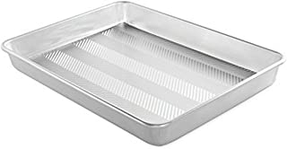 "product image for Nordic Ware Prism 13"" X 17.75"" High-Sided Sheet Cake Pan, Metallic"