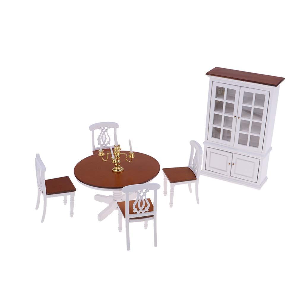 Fenteer 1/12 Puppenhaus Möbel Puppenmöbel Puppenstube Zubehör Spielzeug - 4