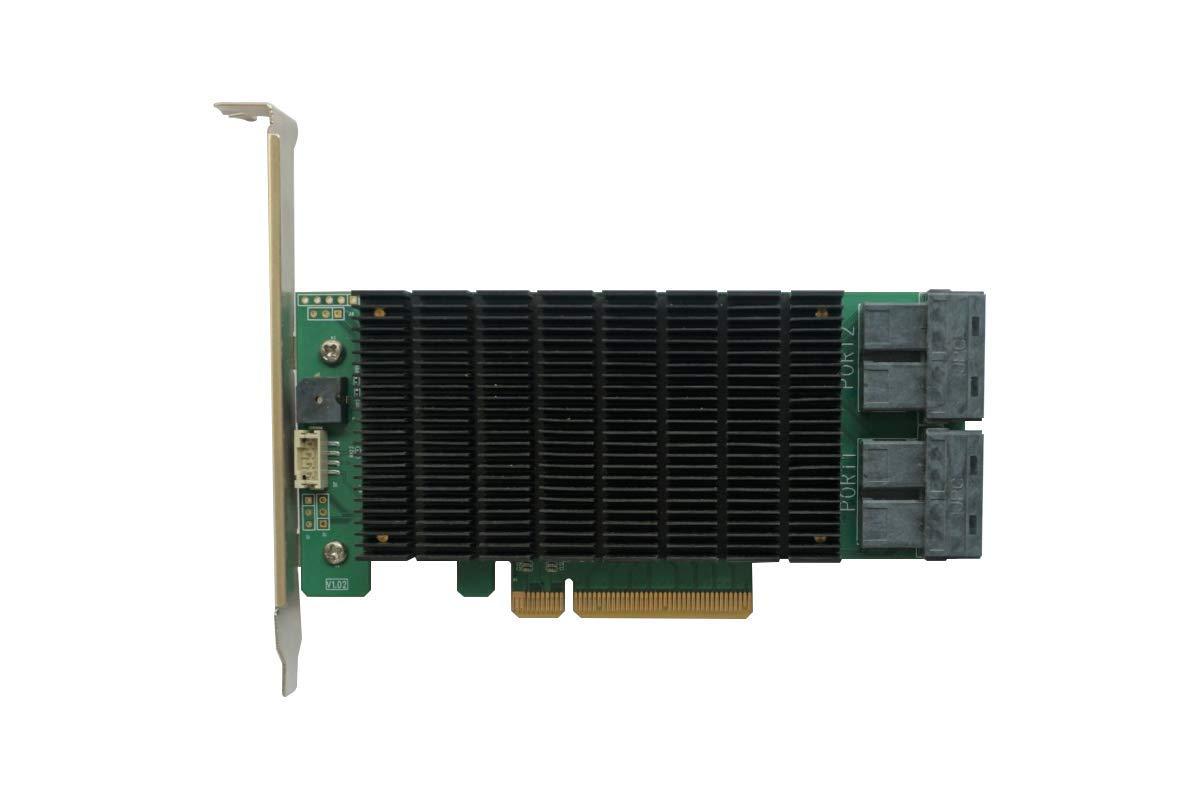 RocketRAID 3740C PCIe 3.0 X8 16-Port 12Gb/s SAS RAID Control