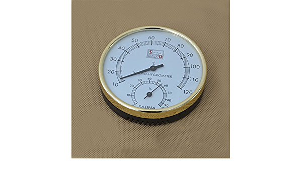 5m Digital LCD Sauna Thermometer Sauna Thermometer Large up to 100 ° C Cable Length