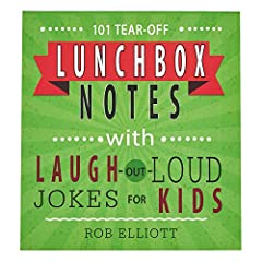 Why did the chicken cross the road? Find out when you pop one of the jokes from 101 Lunchbox Notes with Laugh-out-Loud Jokes for Kids into your child's lunchbox. Each of the colorful tear-off lunchbox notes has a blank space on the back to wr...