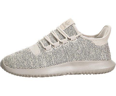 adidas Originals Boys' Tubular Shadow J Sneaker, Clear/Brown/Collegiate Silver/Black, 6