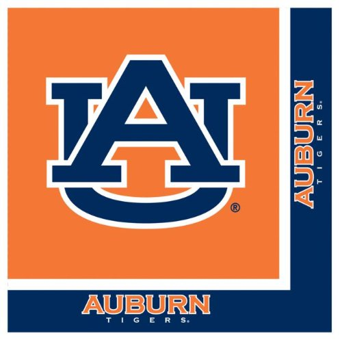 Auburn Lunch Napkins, 2-Ply