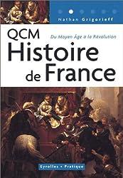 QCM Histoire de France : Du Moyen Age à la Révolution