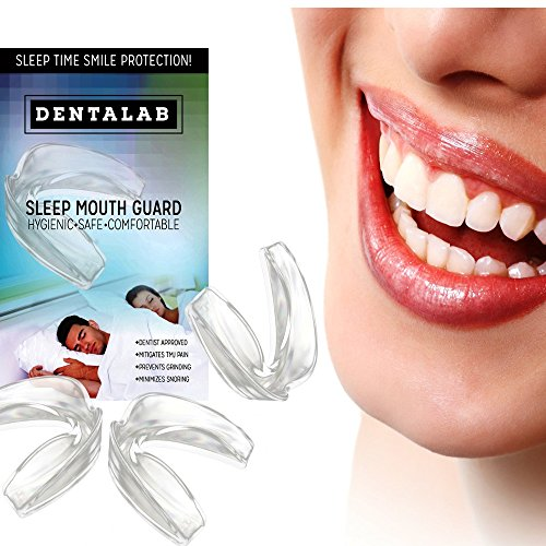 TMJ Mouth Guard Night Time for Grinding Teeth, Bruxism, And Clenching - Includes 3 Custom Fit Professional Dental Guards - Dentist Approved by Dentalab (Image #9)