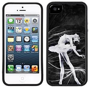 LJF phone case Ballerina Ballet Dancer Handmade iphone 4/4s Black Case