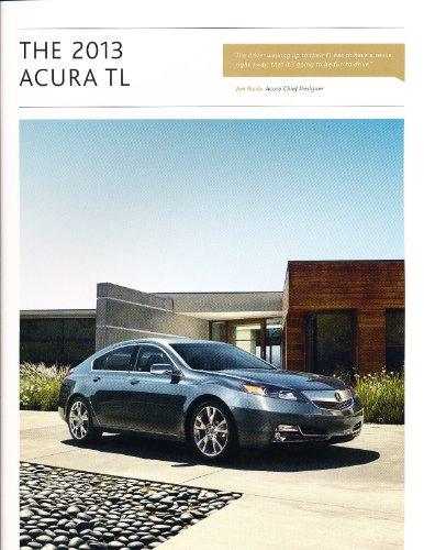 2013 Acura TL 28-page Original Car Dealer Sales Brochure Catalog - SH AWD