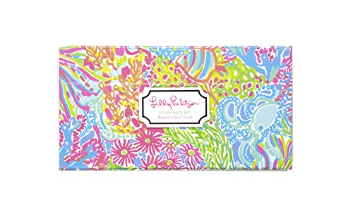 Lilly Pulitzer Lovers Coral Notepad (163321) (Sassy Lily Pad)