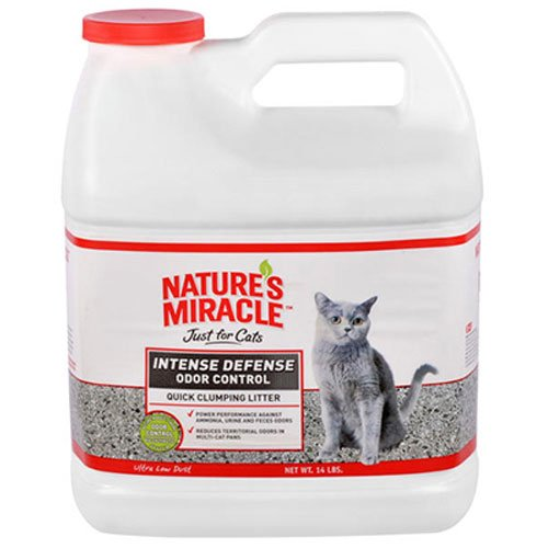 Nature's Miracle Intense Defense Clumping Litter, 14 lb