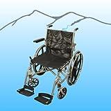 "Aqua Creek 20"" SS Folding Aquatic Wheelchair Model F-051SSWC"