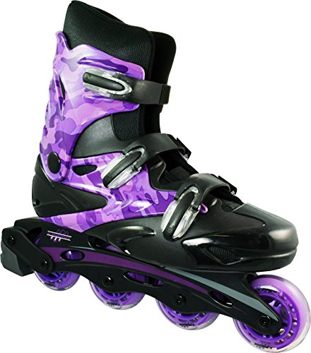 Linear Inline Roller Blade Skates, Purple, Mens 5/Ladies 6