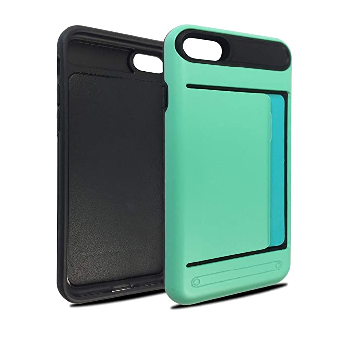 Funda Protectora para Tarjeta de crédito Iphone7/8: Amazon ...