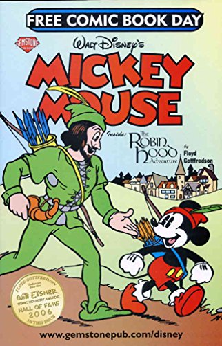 2007 Mickey Mouse - Mickey Mouse-Free Comic Book Day (Walt Disney's...) #2007 VF/NM ; Gemstone comic book