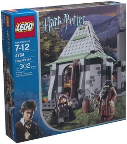 B0001A86BE Lego Stories & Themes Harry Potter Hagrid's Hut (4754) 51N64ZBGRKL.