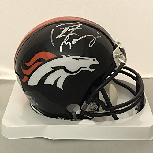 Peyton Manning Signed Authentic Football - 4