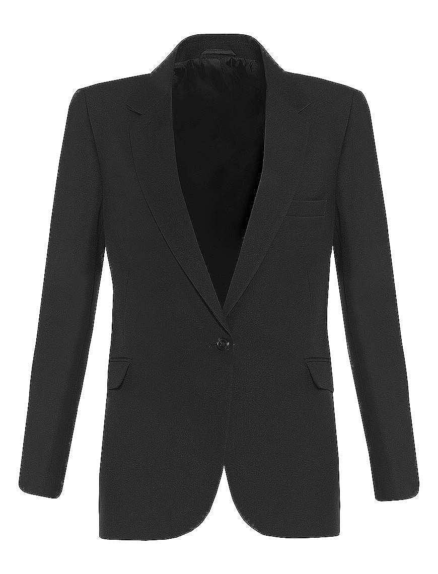 Noir 127 cm poitrine School Uniform 365 - Manteau - Fille