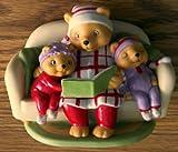 Bear and Twins Figurine