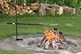campfire grill swivel - Traveling Bob-A-Que Portable Camp Grill