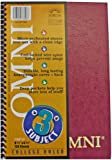 Norcom Omni 3-Subject Notebook, College Ruled, 9.5 x 6.5 Inches, 1 Notebook per Order, Assorted Colors (77306-12)