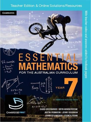 Essential Mathematics for the Australian Curriculum Year 7 Teacher Edition (Essential Mathematics For The Australian Curriculum Year 7)