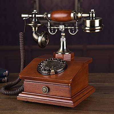 Telephony La Originalidad De La Moda Teléfono Giratorio, Estilo ...