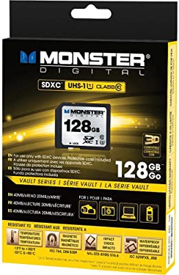 Monster Digital 128GB SDXC memoria flash Clase 10 - Tarjeta ...
