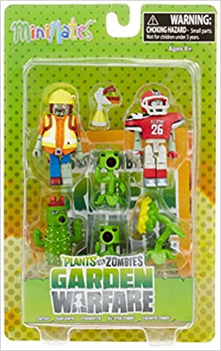 Amazon.in: Buy Plants Vs. Zombies Garden Warfare Minimates: Camo ...