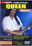 Learn To Play Queen - Vol. 2 [DVD]