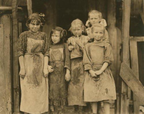 1912 Port Royal South Carolina Children School Half Day,Work at Maggioni Canning