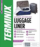 Terminix Travel Bed Bug Proof Luggage Liner - Protection from Dust Mites & Insects - Water-Resistant - Large Full-Size Suit-Case