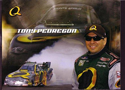 (TONY PEDREGON NHRA HERO CARD NITRO FUNNY CAR 2005 VF)
