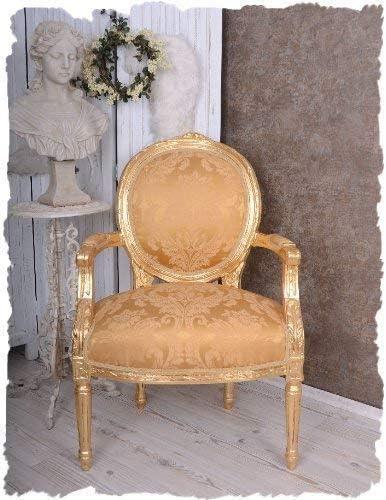 Royal M/édaillon Fauteuil Ch/âteau Pompadour or Look Antique Palazzo Exclusiv
