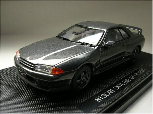 Nissan Skyline GTR R32 1989 Gunmetal Gray 1/43 Scale Diecast Model (Nissan Skyline Model compare prices)