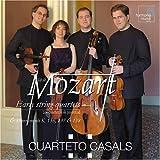 Mozart: cuartetos de cuerda temprana K80 136-38