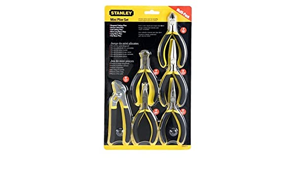 Amazon.com: Stanley 84079 6piece Bimaterial Mini Plier Set; New; Free Shipping: Kitchen & Dining