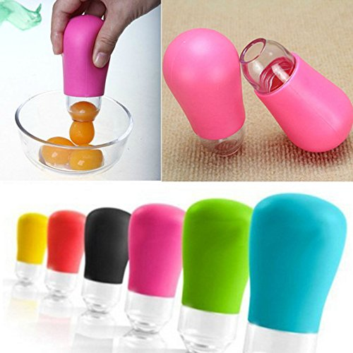 Silicone Pluck Eggs White Separator Extractor Divider Kitchen Tool