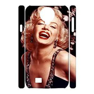 Customized Phone Case with Hard Shell Protection for SamSung Galaxy S4 I9500 3D case with Marilyn Monroe Quote lxa#315948