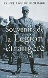 Image de Souvenirs de la Légion